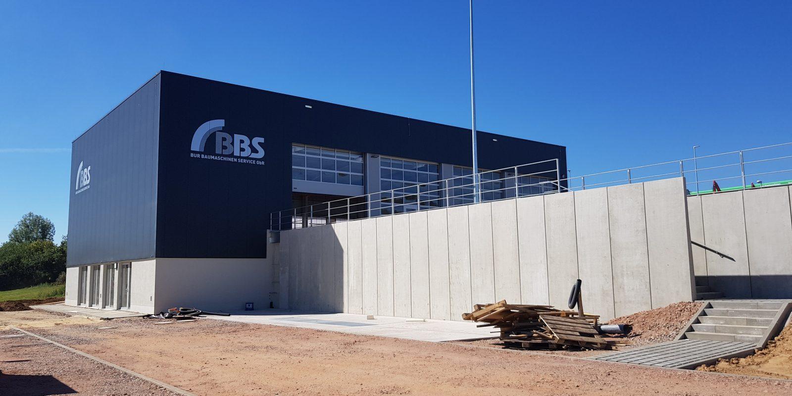 BBS Bur Baumaschinen Service GbR – Neubau eines Werkstattgebäudes in Rochlitz